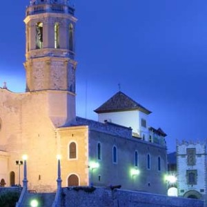 Sitges Church, Spain
